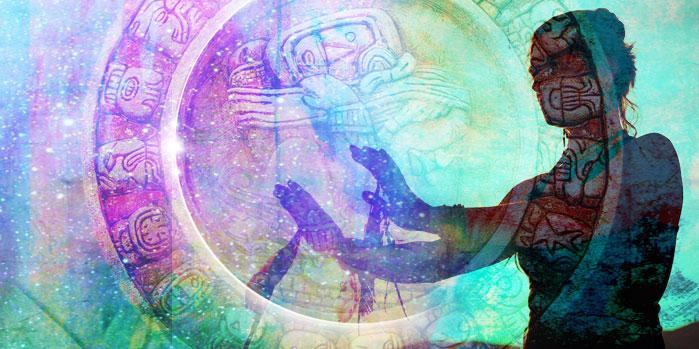 Discover the Mayan Calendar : An Ancient Guide to Balance, Healing, and Sacred Living